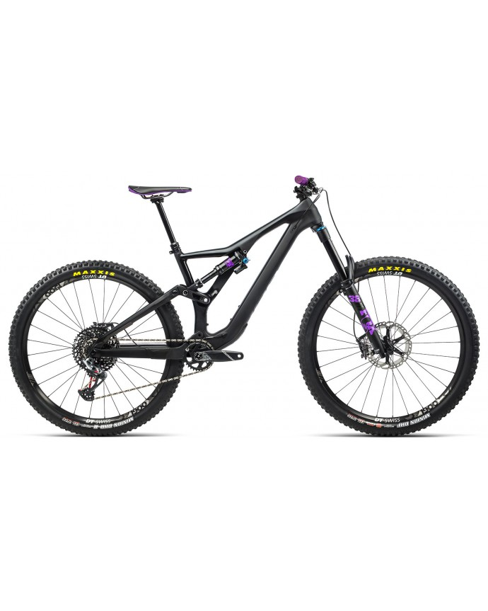 Orbea Rallon M10 Matt Black Purple/Black Gloss