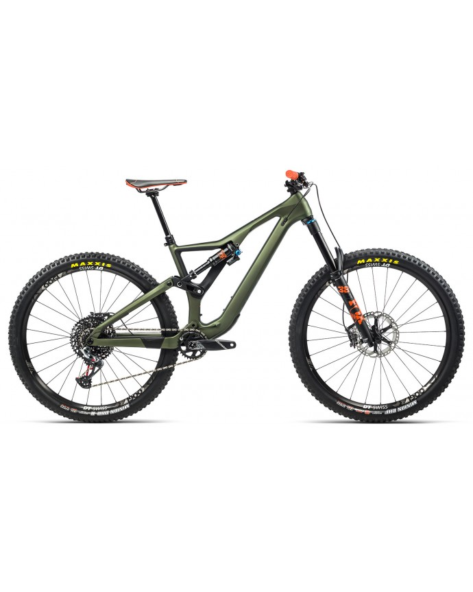 Orbea Rallon M10 Matt Green/Gloss Orange