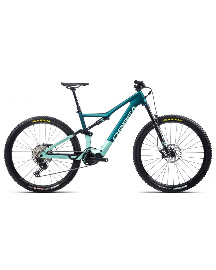 Orbea Rise M20 Matt Ocean/Gloss Ice Green