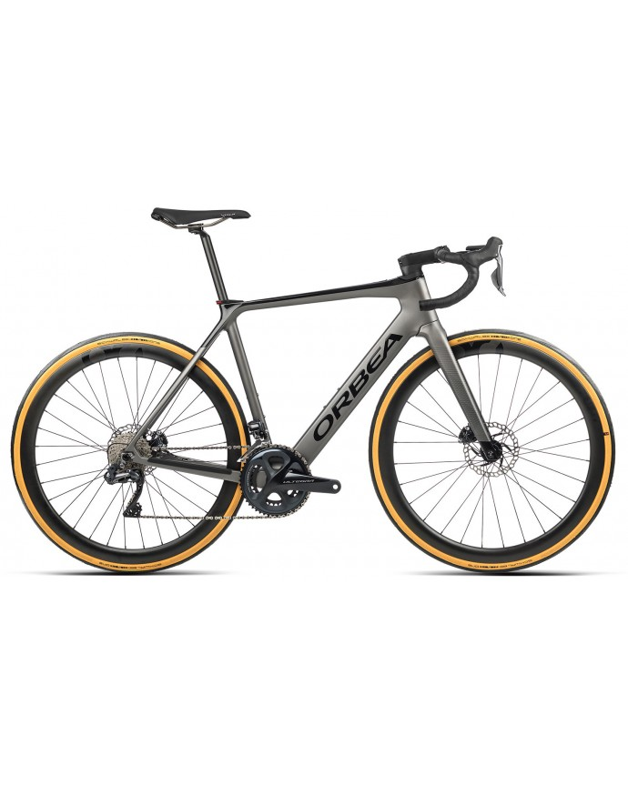 Orbea Gain M20i Matt Speed Silver/Gloss Black