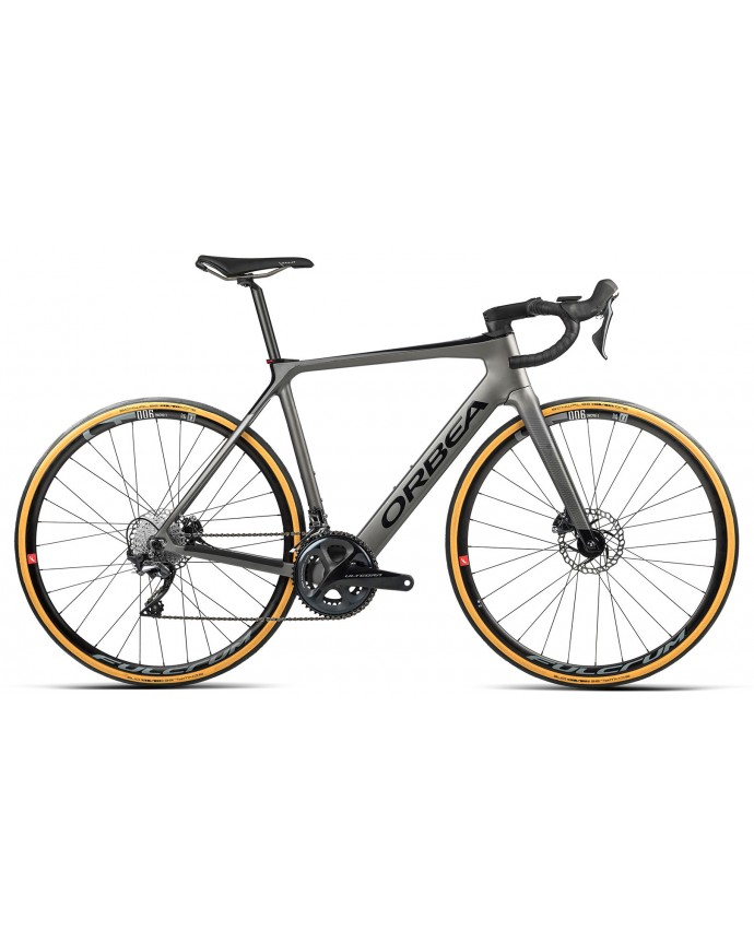 Orbea Gain M20 Matt Speed Silver/Gloss Black