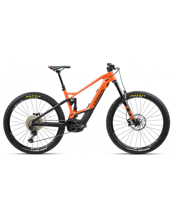 Orbea Wild FS M20 Gloss Orange/Matt Black