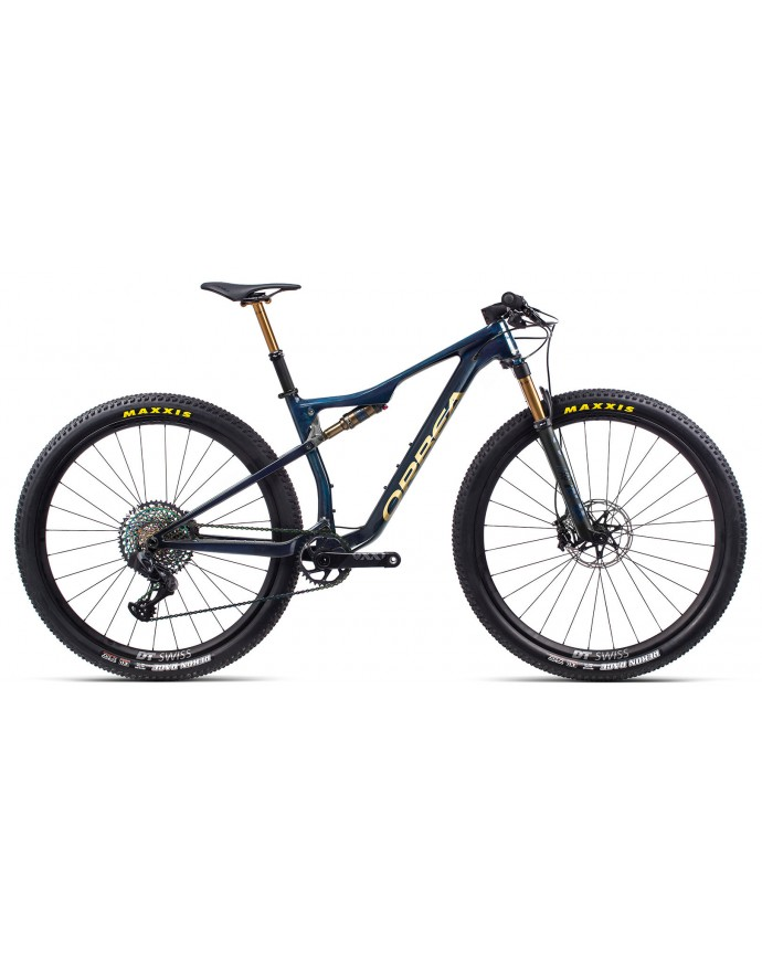 Orbea OiZ M LTD Blue Carbon/Golden