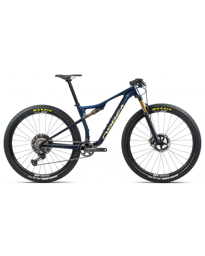 Orbea Oiz M TEAM Blue Carbon/Golden