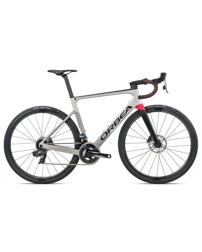 Orbea Orca M21eLTD Grey/Gloss Red