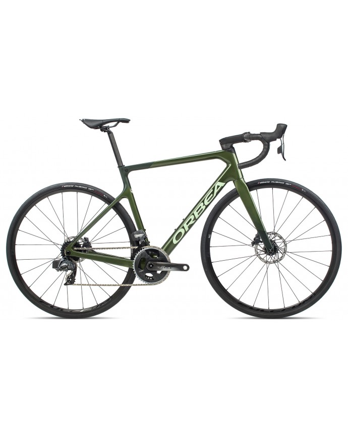 Orbea Orca M21eTEAM Military Green/Dark Green