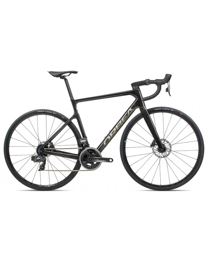 Orbea Orca M21eTEAM Raw Carbon/Bright Titanium