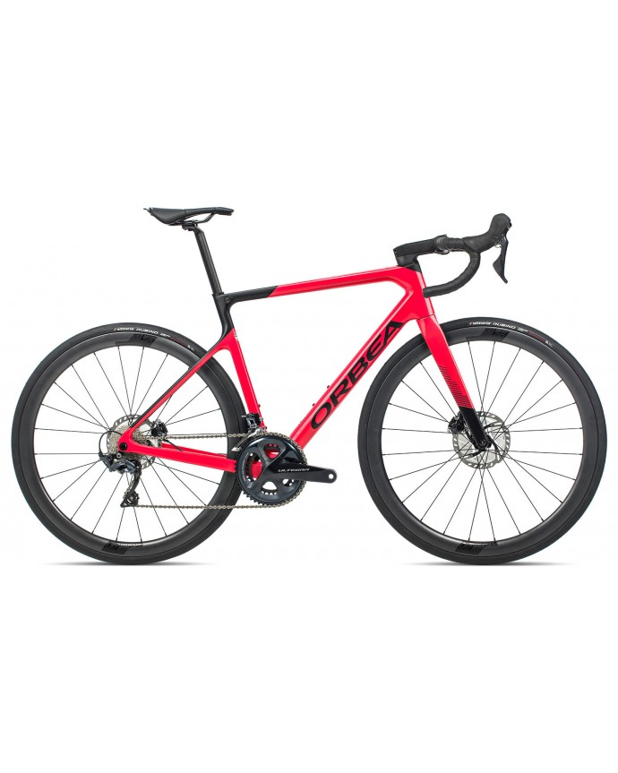 Orbea Orca M25TEAM Gloss Coral/Matt Black