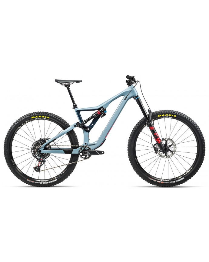 Orbea Rallon M10 Grey Blue/Bright Red
