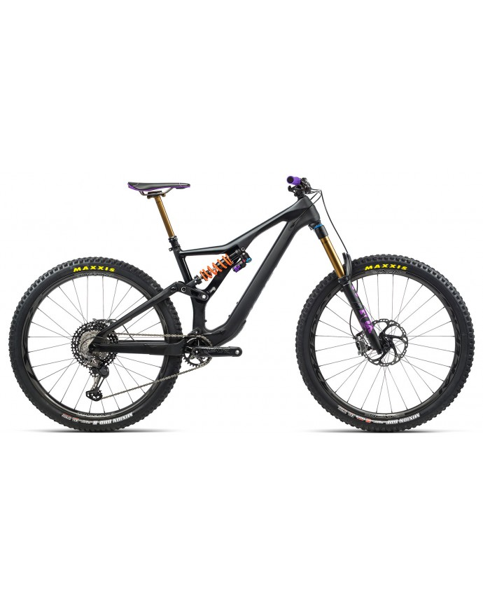 Orbea Rallon M LTD Matt Black Purple/Black Gloss