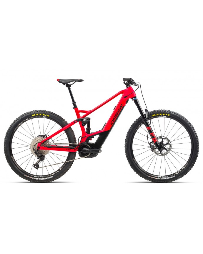 Orbea Wild Fs H10 Gloss Red/Matt Black