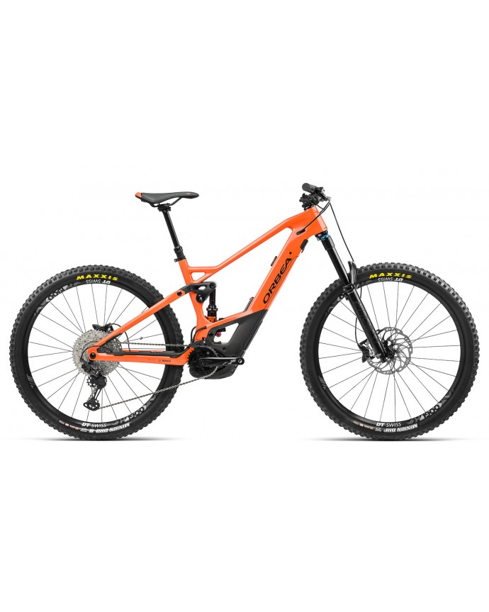 Orbea Wild Fs M10 Gloss Orange/Matt Black