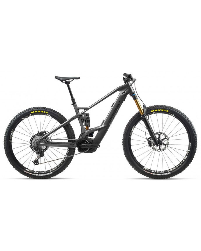 Orbea Wild Fs M-TEAM Gloss Anthracite Glitter/Matt Black
