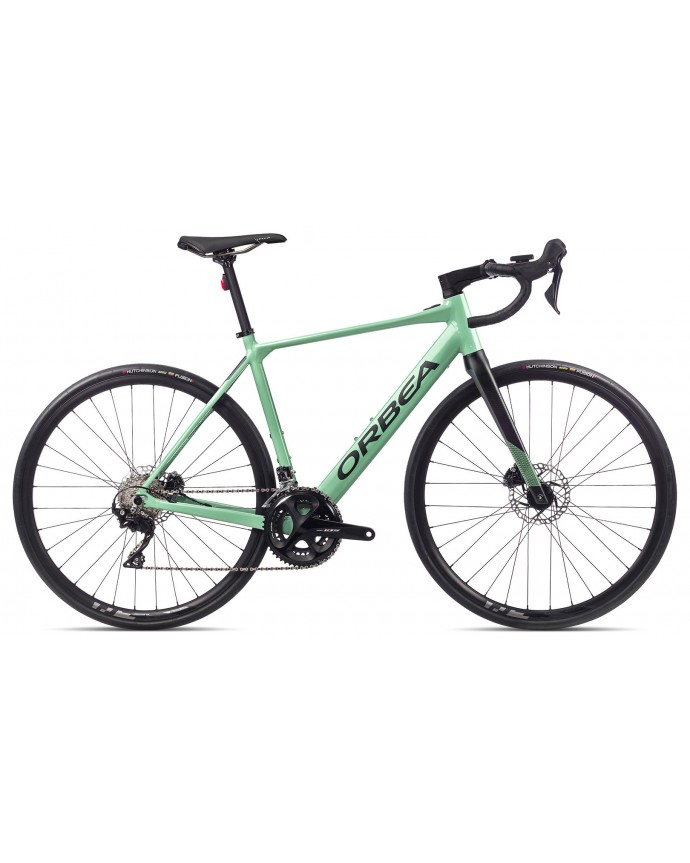 Orbea Gain D30 Gloss Pastel Green/Matt Black