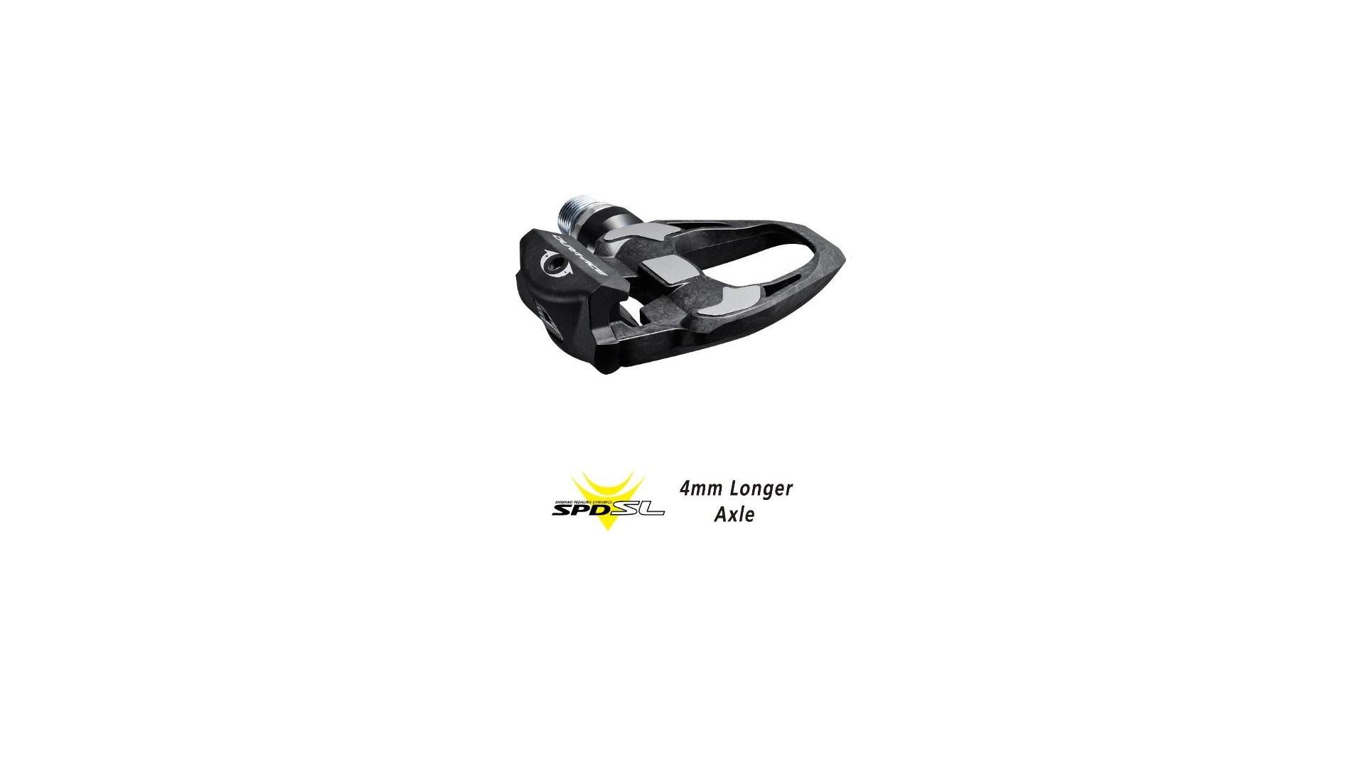Shimano Pedals Dura Dace R9100 Carbon SPD-SL Axis 4mm