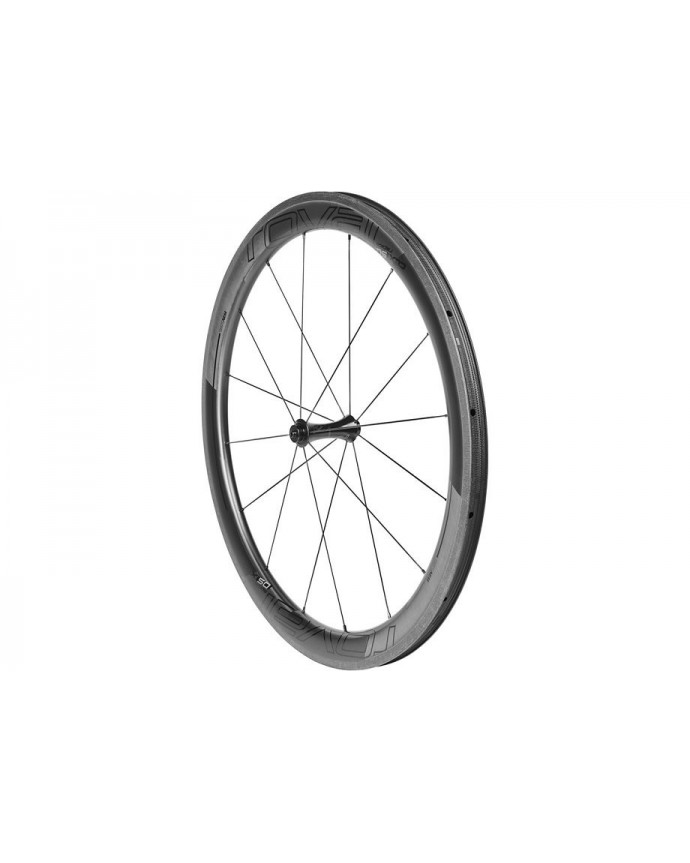 CLX 50 Front Wheel Roval Satin Carbon/Gloss