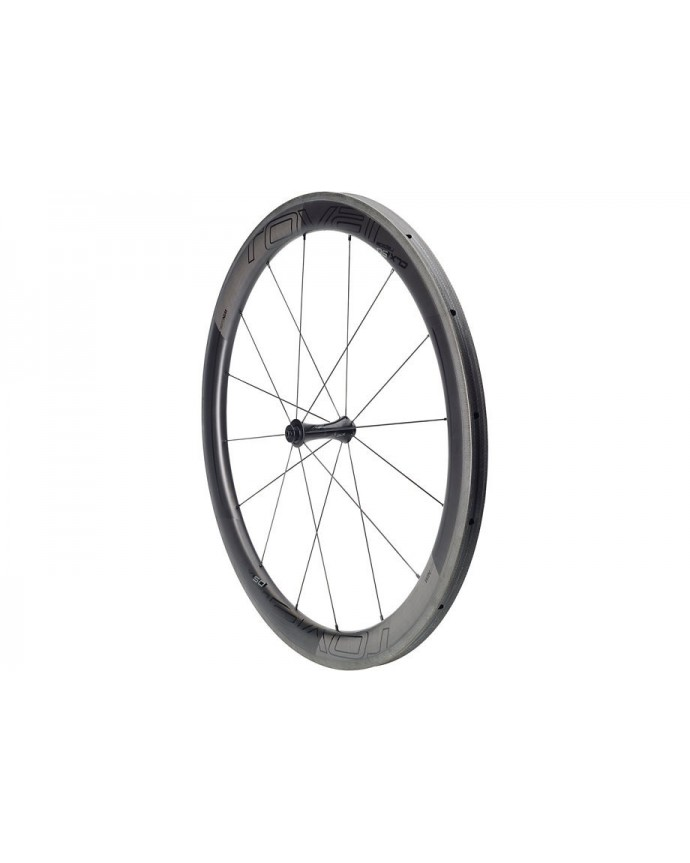 CLX 50 Tubeless Front Wheel Roval Satin Carbon/Gloss