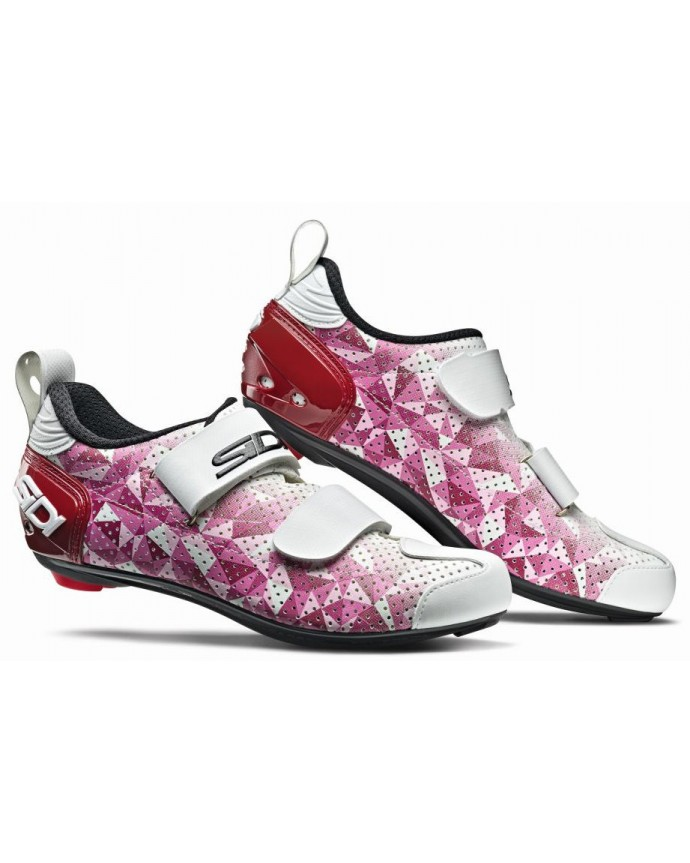 T-5 Air Shoes SIDI Carbon Pink/Red/White