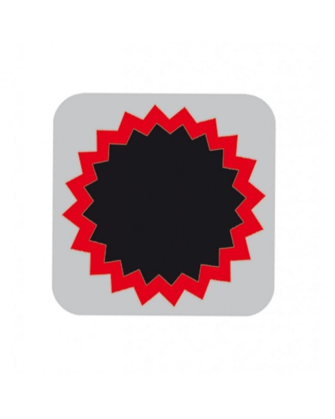 Box Patches Red 0 (100 Units) Tip-Top