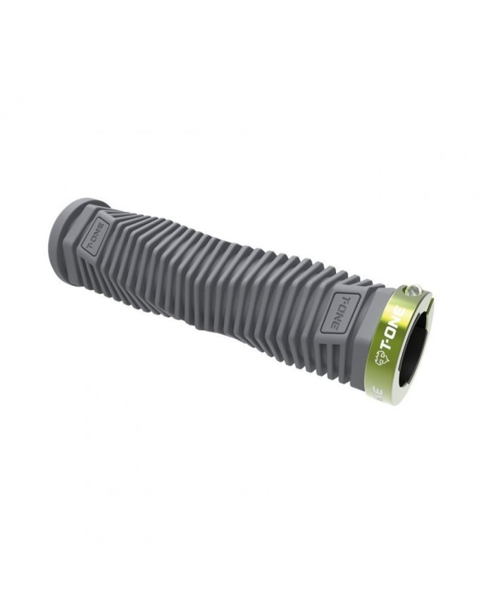 Grips Kit T-one Dna 130mm 1 Security Bolt  Grey/Green
