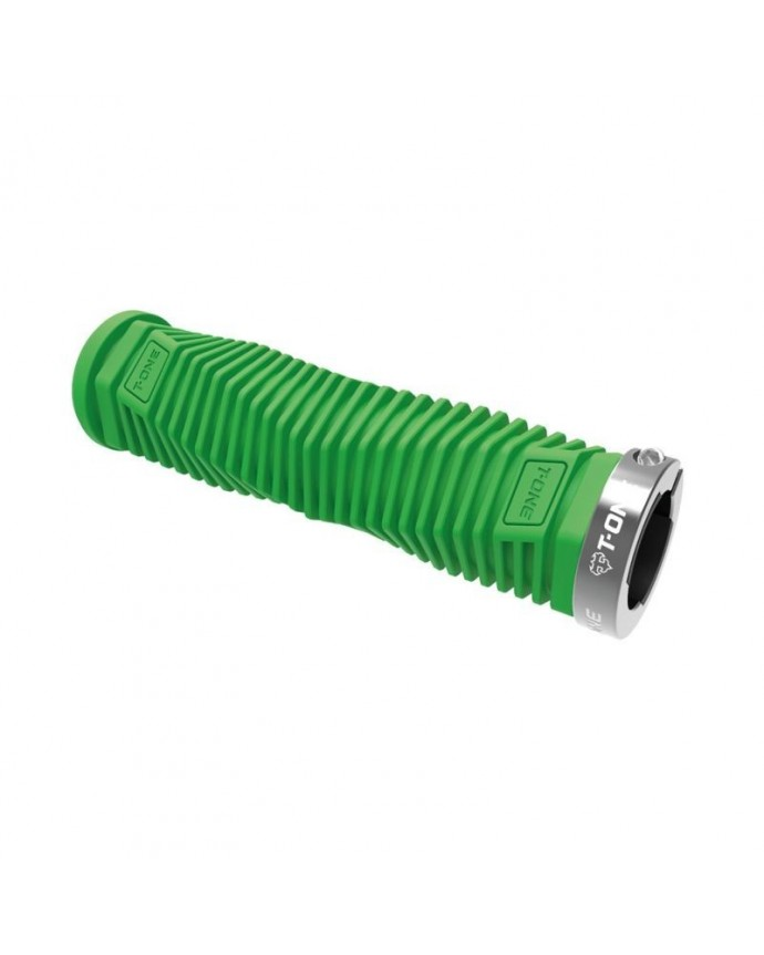 Grips Kit T-one Dna 130mm 1 Security Bolt  Green/Grey