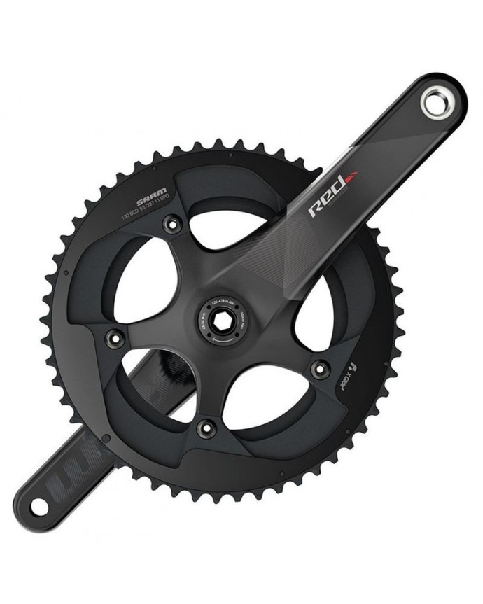Sram Red Exogram BB386 175mm 34x50D 11sp CrankSet Without Cups