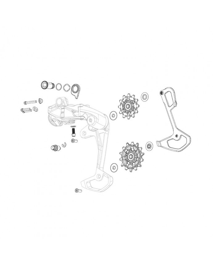 Rival Gearbox/Shift Sram Roulette Kit