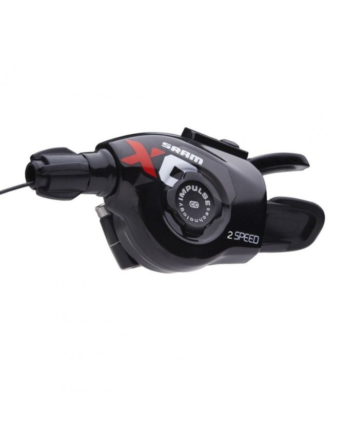 Shifter Sram XO Trigger 2Sp Front Red