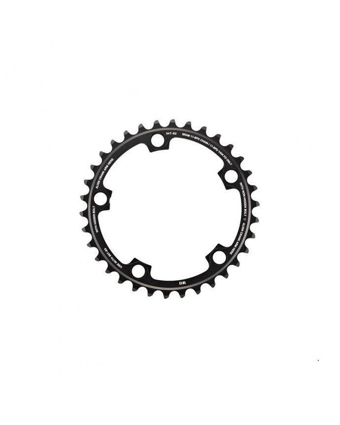 Chainring Sram Red22 34 Teeth BCD 110 CompACT 11Sp