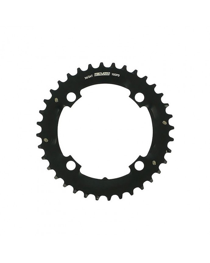 Chainring Sram Truvativ Mtb 36D 104 BCD 4 arms 2x10Sp Black (For Specialized 36/24)