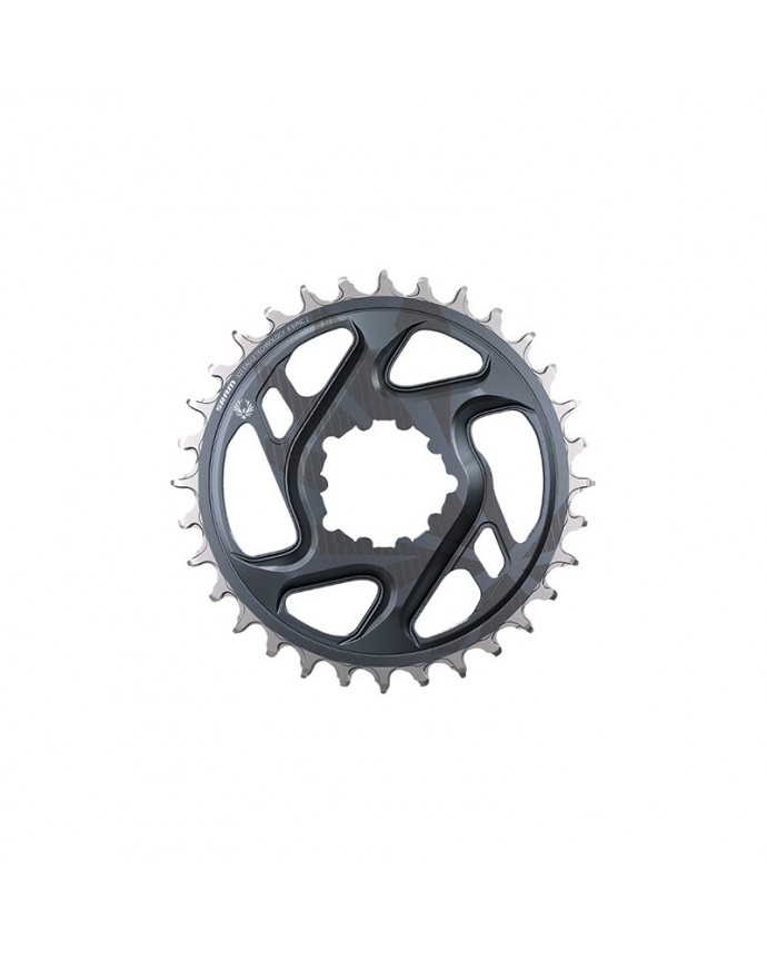 Chainring Sram X-Sync 2 Eagle 30D Direct Mount 4 mm OffSet Grey Lunar (Finished as GX C1 Withnecting Rods)