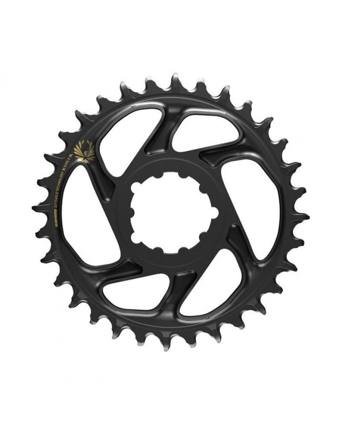 Chainring Sram X-Sync 2 SL Eagle 34T Boost Direct Mount 3 mm OffSet 11/12Sp Gold