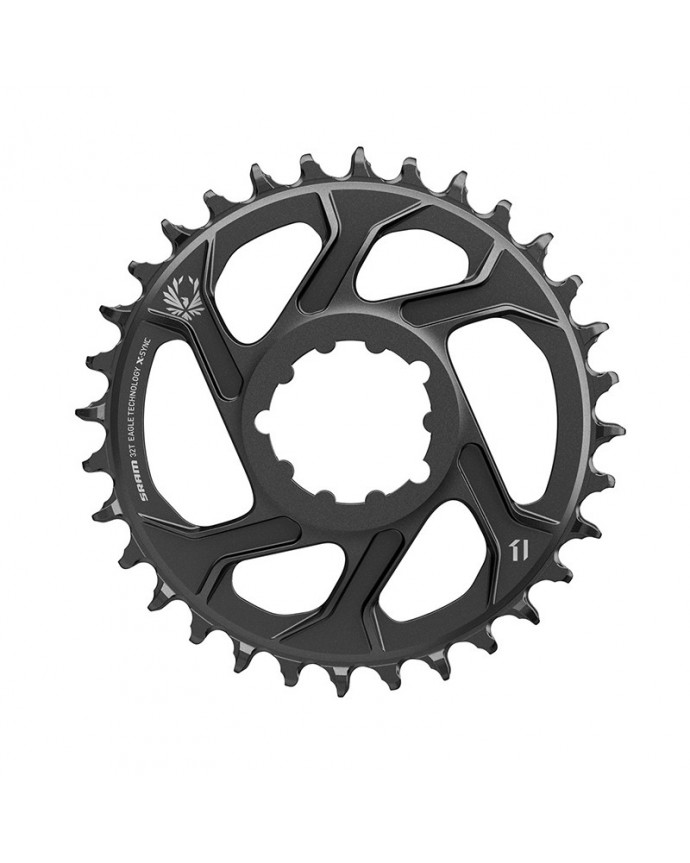 Chainring Sram X-Sync 2 SL Eagle 34T Direct Mount 3 mm OffSet Boost Black
