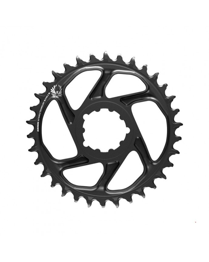 Chainring Sram X-Sync 2 Eagle 34T Direct Mount 6 mm OffSet 12Sp Black