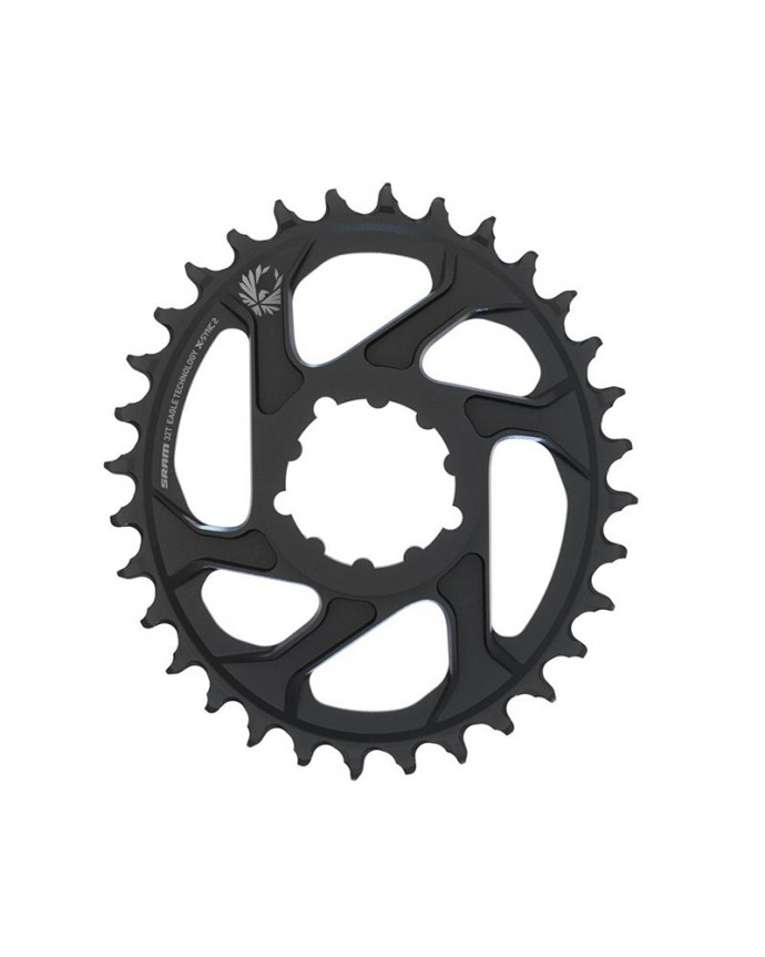 Chainring Sram X-Sync 2 Eagle Oval 32D Direct Mount Boost 3 mm OffSet 12Sp Black