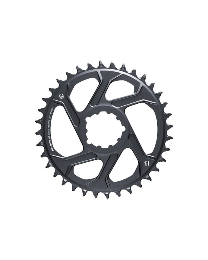 Chainring Sram XSync SL Eagle 34T 3mm OffSet Direct Mount Boost 12Sp Grey