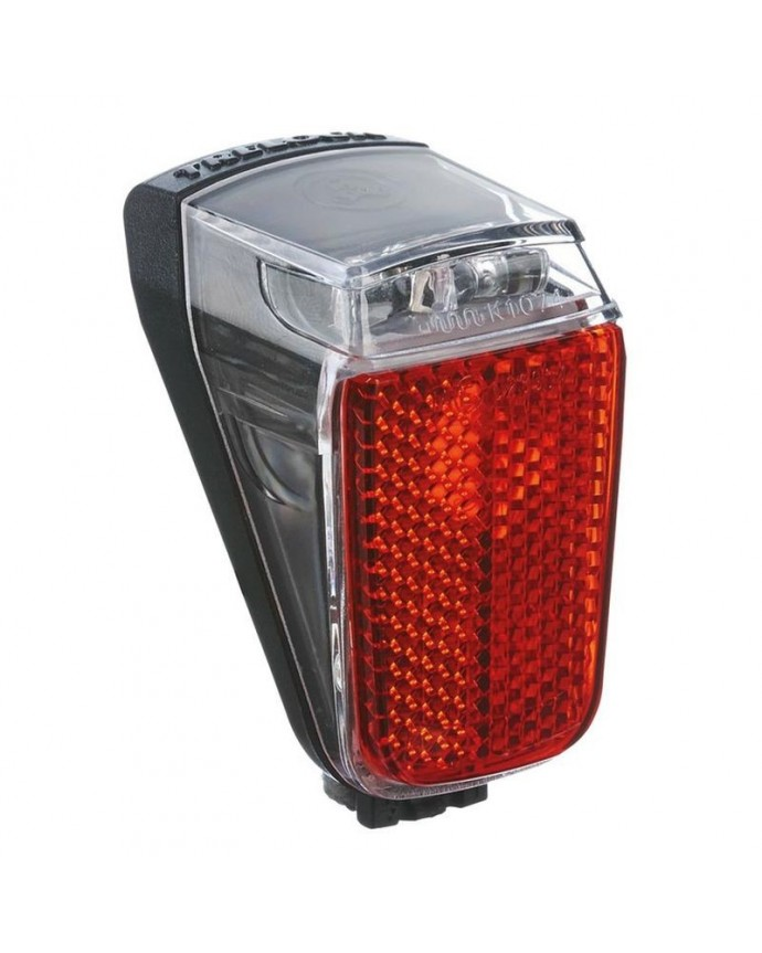 Led Taillight Trelock Duo Top W/Dyname W/Light Position  Black