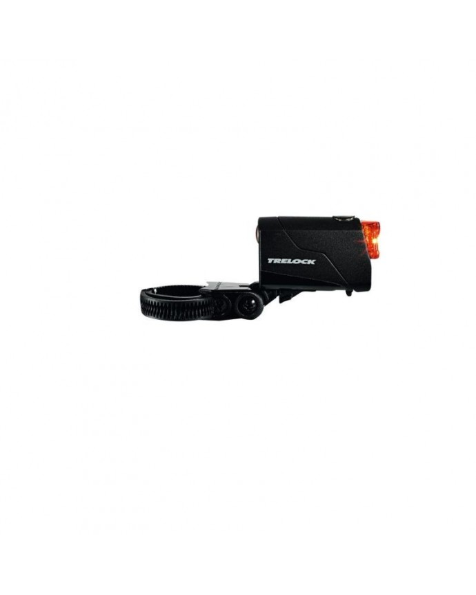Led Taillight Trelock Reego W/Battery Ion Usb W/Support Black