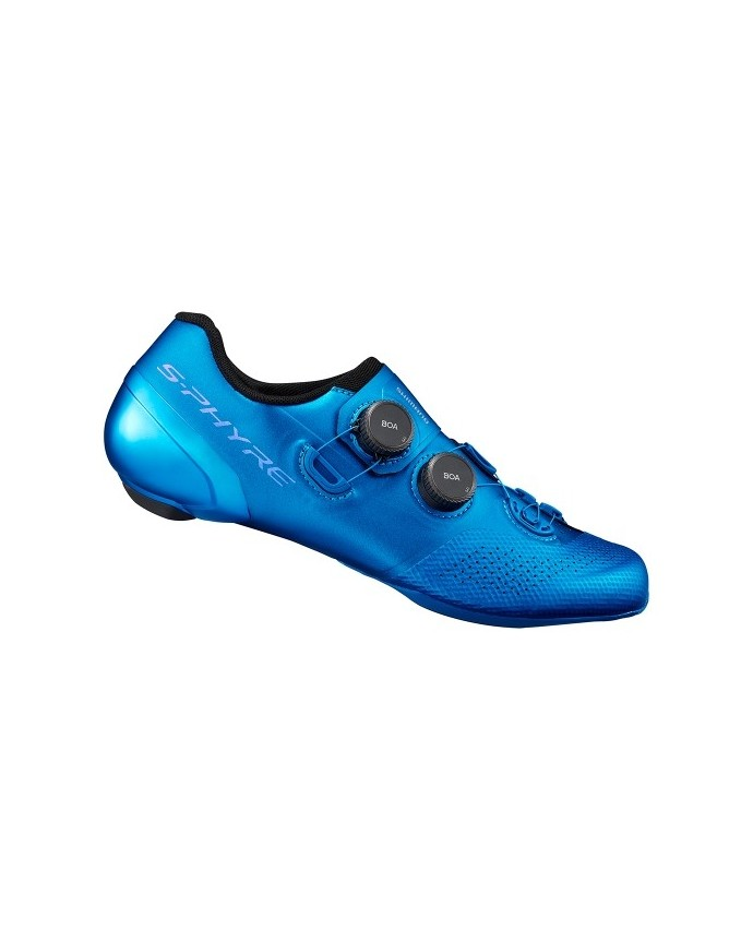 C. RC902 Shimano Road Shoes Man Wide Blue