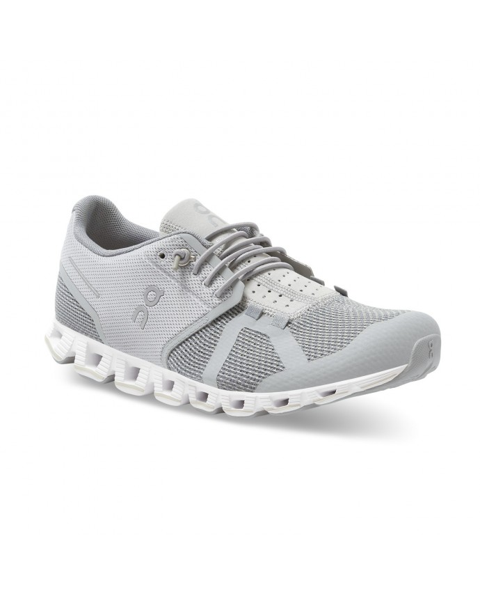 Cloud Running Shoes On Woman Slate/Grey
