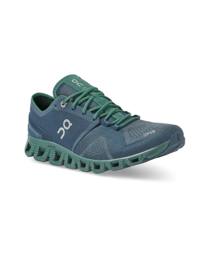 Cloud X Running Shoes On Man Storm/Tide