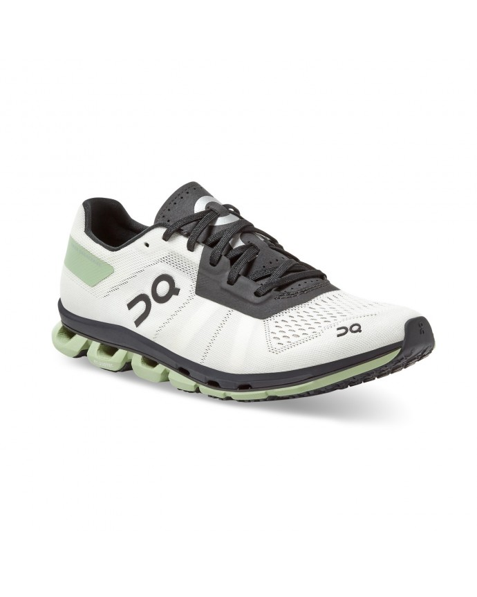 Cloudflash Running Shoes On Woman White/Black
