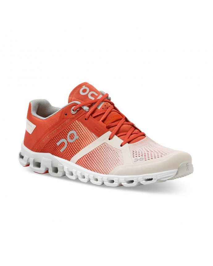 Cloudflow Running Shoes On Woman Rust/Rose