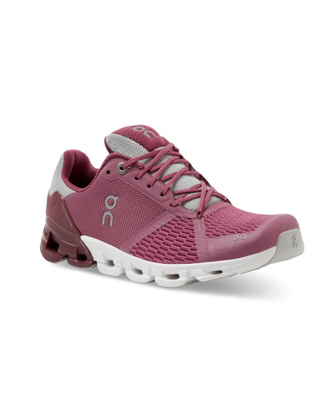 Cloudflyer Running Shoes On Woman Magenta/Mulberry