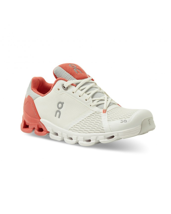 Cloudflyer Running Shoes On Woman White/Coral