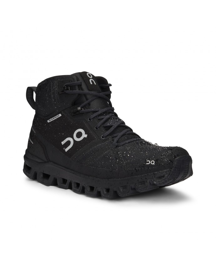 Cloudrock Waterproof Running Shoes On Woman All Black