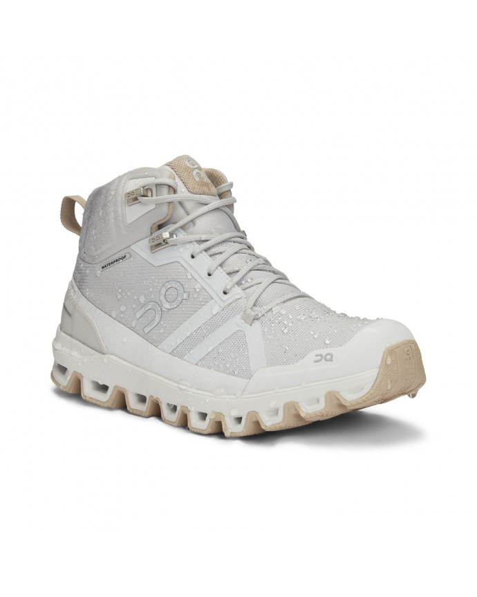 Cloudrock Waterproof Running Shoes On Woman Glacier/Sand