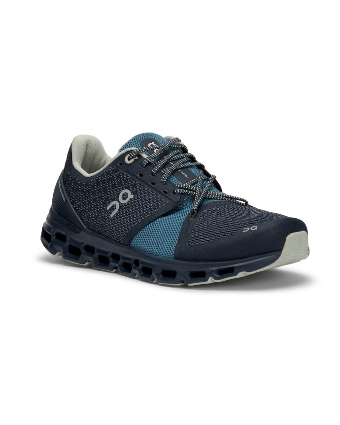 Cloudstratus Running Shoes On Woman Navy/Dust