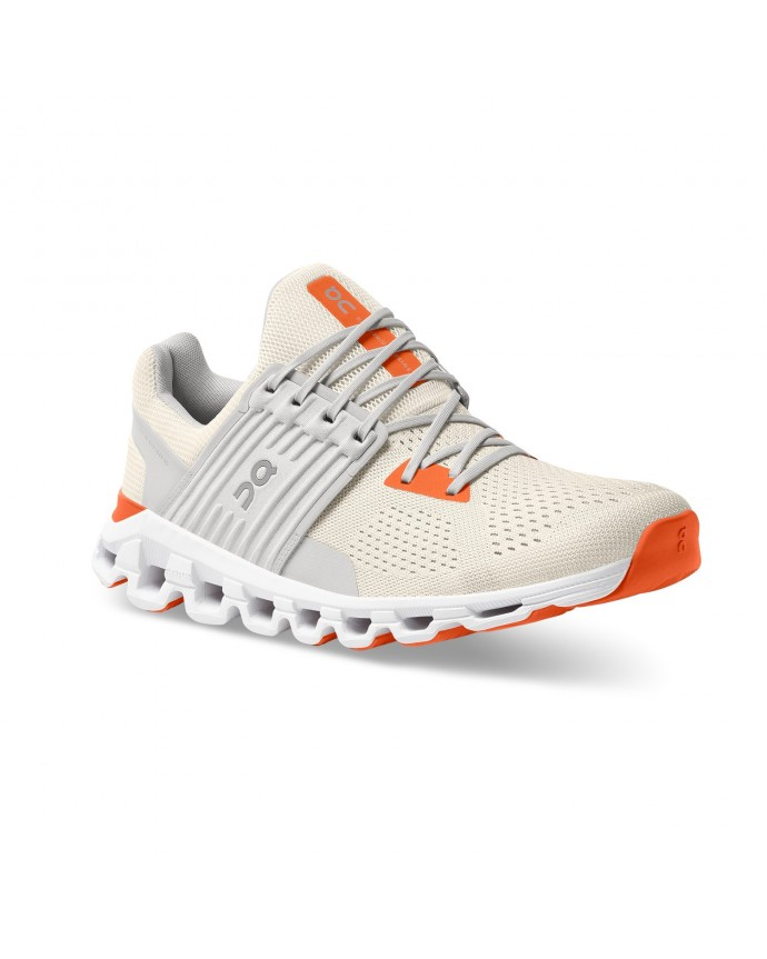Cloudswift Running Shoes On Man White/Flame