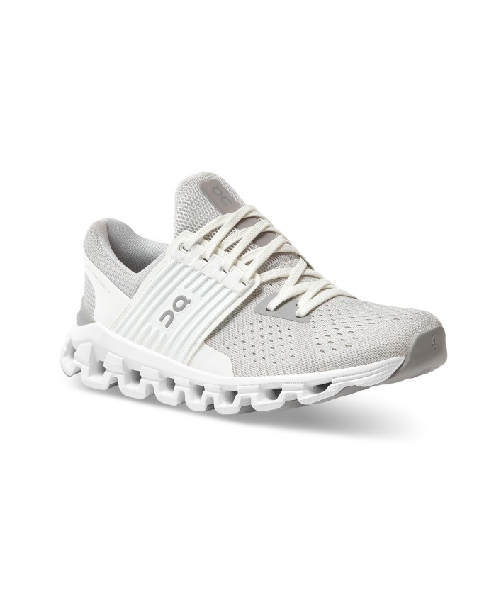 Cloudswift Running Shoes On Woman Glacier/White